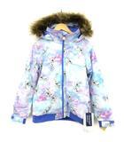 バートン BURTON キッズ スノーウェア ジャケット オラフ アナ雪 コラボ スキー スノボ L 148-155 ☆CA☆キ3 0305