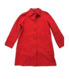 ケイトスペード KATE SPADE ステンカラーコート  長袖 ロング 5B size 1 S 赤 0213 ◆