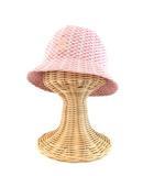 カンゴール KANGOL KIDS BOAT CHECK ハット 帽子 ロゴ 総柄 ピンク M キッズ IBO 0221