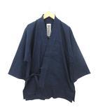 笹倉玄照堂 吉兆藍木綿 作務衣 上着 藍染 101 S インディゴ 0110
