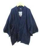笹倉玄照堂 SASAKURA GENSHO 吉兆藍木綿 作務衣 上着 藍染 714 インディゴ 0110