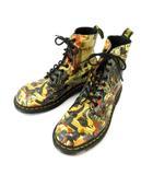 ドクターマーチン DR.MARTENS ブーツ 8ホール レザー 絵画シリーズ PASCAL ビアー ジョダントニオ UK6 0326