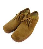 クラークス clarks シューズ スエード 靴 ブラウン UK9G 0523