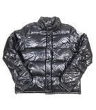 モンクレール MONCLER EVEREST エベレスト ダウン ジャケット ブルゾン ジャンパー ナイロン ロゴ ワッペン 5 黒 ブラック/F76 ■6☆AA★