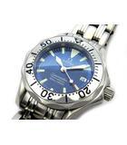 オメガ OMEGA シーマスター プロフェッショナル 300m 腕時計 クォーツ 2285.80 ブルー文字盤