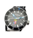 ロックマン LOCMAN モンテクリフト Montecristo Marina Militare 腕時計 自動巻き 0513KNBKCBMMSIK ブラック 黒