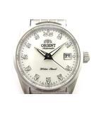 オリエント ORIENT ワールドステージ コレクション 自動巻き 腕時計 WV0561NR ホワイト