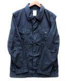 バックナンバー BACK NUMBER M65 シャツ ジャケット 長袖 ネイビー L