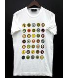 ディースクエアード DSQUARED2 18SS スカウトスタンプ Tシャツ 半袖 ホワイト 白 M 国内正規 S74GD0381 ☆AA★