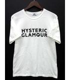 ヒステリックグラマー HYSTERIC GLAMOUR 2018 HYS SYMBOL プリント Tシャツ ホワイト 白 S 02182CT14 美品
