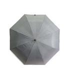 サンバリア100 折りたたみ 日傘 2段折 二段折 完全遮光 フロスト グレー 60cm 男女兼用