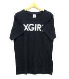 エックスガール x-girl ディズニー ミッキー Tシャツ 半袖 プリント ブラック 黒 ONE