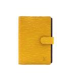 ルイヴィトン LOUIS VUITTON エピ アジェンダPM 手帳カバー 6穴式 R20059 イエロー 黄 美品