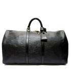 ルイヴィトン LOUIS VUITTON エピ キーポル55 ボストン バッグ 旅行鞄 M42952 ノワール ブラック 黒
