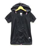 アディダス adidas 13 W RC Tシャツ パーカー メッシュ 半袖 トップス ブラック 黒 S
