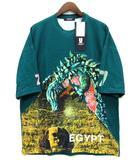 アンダーカバー UNDERCOVER 2019SS ビッグ Tシャツ ZORUGE 7 BIG TEE 半袖 グリーン 2 名古屋限定 UCW9810