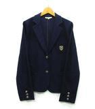 ナチュラルビューティーベーシック NATURAL BEAUTY BASIC ジャージー ブレザー 紺ブレ ジャケット ネイビー 紺 L