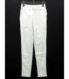 ダブルスタンダードクロージング ダブスタ DOUBLE STANDARD CLOTHING パンツ レギンス レギパン ストレッチ ゴムウエスト ホワイト 白 36 5636053