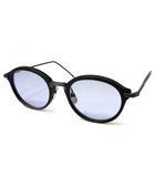 トムブラウン THOM BROWNE メガネ 眼鏡 サングラス TB-011-E 49 Matte Black / Black Iron マットブラック 黒 ボスリントン 美品