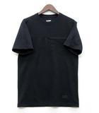 エクストララージ X-LARGE Tシャツ 半袖 ポケット 厚手 ブラック 黒 M