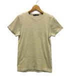 ラルフローレン RALPH LAUREN Tシャツ カットソー 半袖 ワンポイント ベージュ M