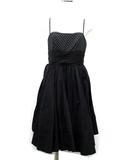 ジルスチュアート JILL STUART キャミ ドレス ワンピース ドット 黒 ブラック 4
