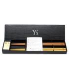 ワイズ Y's 箸 箸置き 若狭塗箸 天然木 チョップスティック