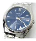 シチズン CITIZEN レグノ REGUNO ソーラーテック 腕時計 RS25-0041C ネイビー 紺 新品同様