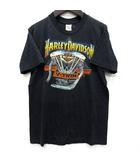 ステッドマン STEDMAN ハーレーダビッドソン HARLEY DAVIDSON Tシャツ V-TWIN 半袖 M 黒 ブラック USA製 70s