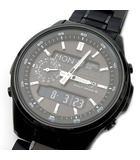 カシオ CASIO リニエージ LINEAGE 電波 ソーラー  腕時計 マルチバンド6 LCW-M300DB-1AJF ブラック 黒 超美品