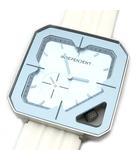 シチズン CITIZEN インディペンデント INDEPENDENT 腕時計 クォーツ BZ1-510-90 ホワイト ブルー系 美品