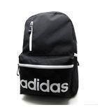 アディダス adidas リュックサック デイパック ロゴ 黒 ブラック ACE社 美品