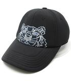 ケンゾー KENZO タイガー キャップ ネオプレン素材 TIGER CAP 黒 ブラック 2019SS 美品 FA55AC301F22