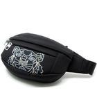 ケンゾー KENZO バムバッグ ウエストバッグ ボディバッグ ネオプレン素材 Neoprene Tiger bumbag 黒 ブラック 美品 FA55SF305F22