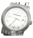 バーバリー BURBERRY ヘリテージ 腕時計 クォーツ ウォッチ BU1351 シルバー 電池交換済み