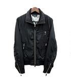 チャオパニック CIAOPANIC ライダース ブルゾン ジャケット ジップポケット ブラック 黒 M 美品