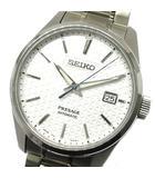 セイコー SEIKO プレザージュ PRESAGE プレステージライン 自動巻き 腕時計 SARX075 6R35-00V0 裏スケ ホワイト 白文字盤 新品同様