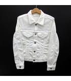 アントゲージ Antgauge ホワイト デニム ジャケット Gジャン ストレッチ AA425 白 F 美品
