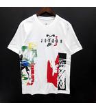 ナイキ NIKE ジョーダン プリント Tシャツ 半袖 クルーネック SPRT DNA SS CREW 2 ホワイト 白 S CJ6224-100