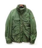 ピューテリー PEUTEREY M-65 中綿 ミリタリー ジャケット 収納フード付き カーキグリーン 緑 48
