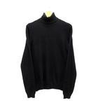 ユニクロ UNIQLO カシミヤ タートルネック セーター 長袖 ブラック 黒 S 015129 美品