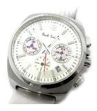 ファイナルアイズ クロノグラフ クォーツ 腕時計 F520-T011527 ピンク