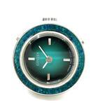 リング ウォッチ 指輪時計 SS 手巻き 6302-631510Y グリーン シルバー 11号前後 サイズ調整可