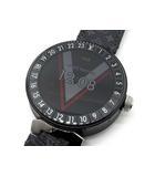 タンブール ホライゾン V2 スマート ウォッチ 腕時計 QA051Z マットブラック 美品