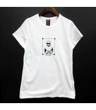 ダブルスタンダードクロージング ダブスタ DOUBLE STANDARD CLOTHING グラフィック Tシャツ カットソー コットン 半袖 ホワイト 白 F