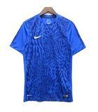 ナイキ NIKE DRI-FIT GPX フラッシュトップ プラクティス Tシャツ 半袖 アニマル グラフィック ブルー 青 S 746097