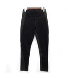 ギャップ GAP スカルプト ポンチ ストレッチ パンツ レギパン ハイウエスト 裾ジップ ブラック 黒 XS 美品