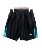 アディダス adidas ランニング ショーツ ショートパンツ ゴムウエスト ブラック 黒 L