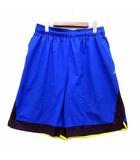 アンダーアーマー UNDER ARMOUR バスケットボール ハイパーソニック 9インチ ショーツ ハーフパンツ ブルー 青 XL 1290556