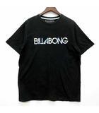 ビラボン BILLABONG Tシャツ カットソー 半袖 リゾート花柄ロゴ ブラック 黒 L AE011-200